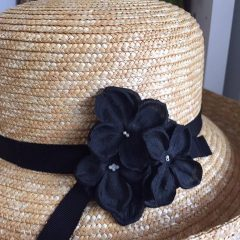 帽子のコサージュ_7