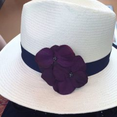 帽子のコサージュ_8