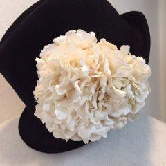 帽子のコサージュ_12