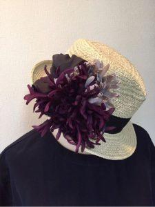 帽子のコサージュ_13